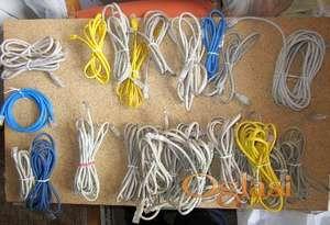 UTP LAN mrežni kablovi 29 kom.