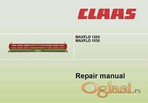 Claas Maxflo 1200 1050 - Radionički priručnik