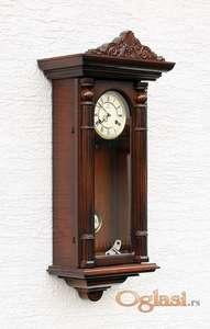 Zidni sat SCHMECKENBECHER, nemački.