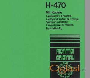 Hurlimann 470  Katalog rezervnih delova