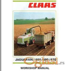 Claas Jaguar 690 - 685 - 680 - 675 Radionički priručnik