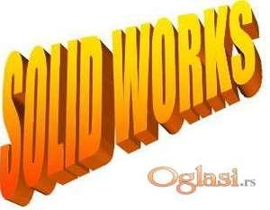 SOLID WORKS (SolidWorks) - privatni časovi i izrada 3D modela
