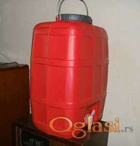 Kanister za Vodu, 20 litara sa slavinom-NOVO