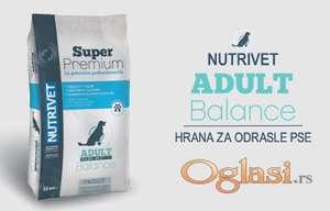NUTRIVET Super Premium ADULT BALANCE 23/11 - hrana za pse