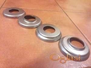 Rozetne za cev fi 25 mm metalne, inox i aluminijumske