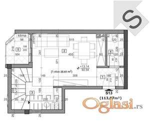 SOMBORSKI BULEVAR, 113 m2, 133850 EUR