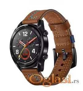 Huawei watch gt 2 narukvica (braon plav konac)