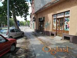 Namešten ulični lokal za mesnicu,radnju120m2-Futoška