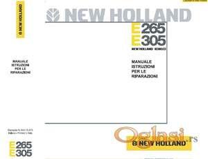 New Holland 265 i New Holland 305 - Radionički priručnici