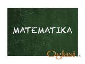 Časovi matematike studentima Šumarskog fakulteta