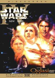 STAR WARS komplet (11 DVD)
