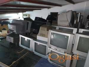 Televizori precnika 54 1500 din a 72 je 3000 din razne marke