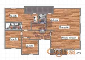 Četvorosoban stan na Veterničkoj Rampi!!