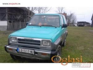 Brezjak Daihatsu Feroza, Sportrak su dzip