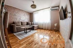 Izdaje se leop opremljen stan  na  top lokaciji usejiv odmah 400 eura