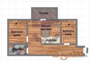 Nov trosoban stan blizu Centra !