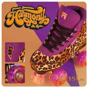 Rolšue - Rookie rollerskates Harmony Leopard
