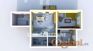 Troiposoban stan u novogradnji Kertvaroš ID#1104