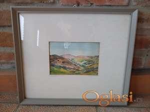 Akvarel - Pejzaž