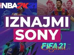 Iznajmljivanje Sony PlayStation 4 PS4 - Novi Sad