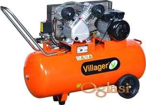 Kompresor za vazduh VAT VE 100L VILLAGER