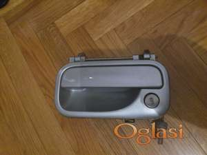 Opel siva metalik spoljna kvaka