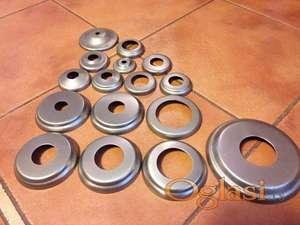 Rozetne za cev fi 30 mm metalne, inox i aluminijumske