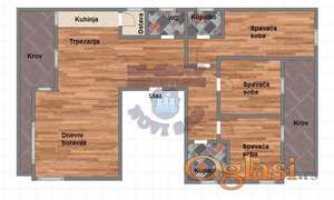LUX stan u izgradnji, cena sa PDV-om! Garaža! Bulevar patrijarha Pavla!