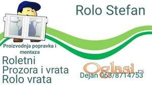 Roletne po meri 0638714753