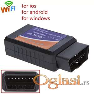 ELM 327 Wifi V1.5 OBDII - PIC18F25K80 Chip Interface