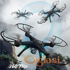 Dron helikopter kvadrokopter + Kamera T1G
