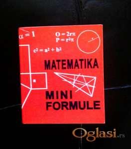 Matematika Mini Formule
