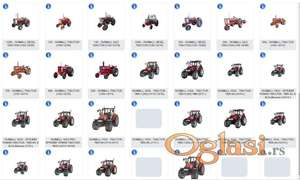 Farmall traktori - katalozi delova