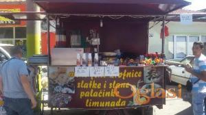 Prikolica za prodaju hrane