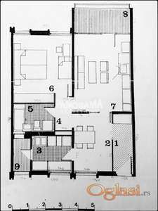 BLOK 70A, 59m2'+6m2, 2.0, IV, cg, uknjižen, 115.000 eur ID#1956