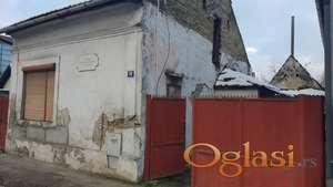 Salajka, početak Partizanske, kuća za rušenje, 2,66ari 69000eura