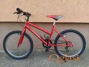"""Deciji bicikl 20"""" crvena 5 brzina"""