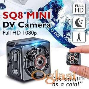 Mini kamera spijunska kamera SQ8 Mini Kamera 1080P