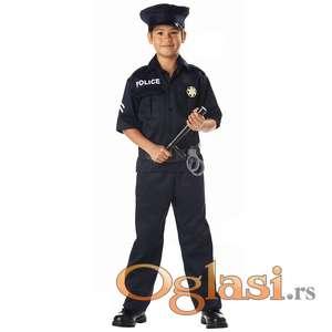 Kostim policijski za decake