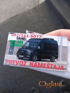 24/7 Prevoz Nameštaja i Selidba Novi Sad 061/141-6077 Viber