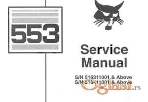 Bobcat 553 - Radionički priručnik