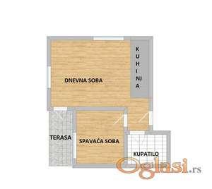 Prodaje se odmah useljiv stan sa povratom PDV-a u blizini Lipovog Gaja!