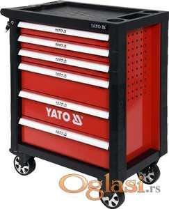Kolica za alat sa 6 fioka sa 177 alata Yato YT-55300