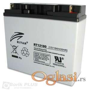 Novo!!! Baterija Rittar 12v 18Ah