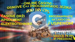 ONLINE ČASOVI Programiranja C++