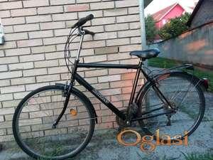Kalkhof muški visoki crni bicikl odličan
