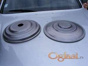 Metalne stope, ploče i rozetne za stolove, čiviluke, lampe