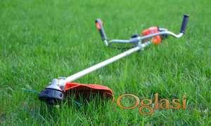 Košenje trave, visokog i niskog rastinja, korova 0613013736 NOVI SAD I OKOLINA