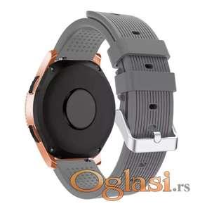 Silikonska siva narukvica Samsung galaxy watch