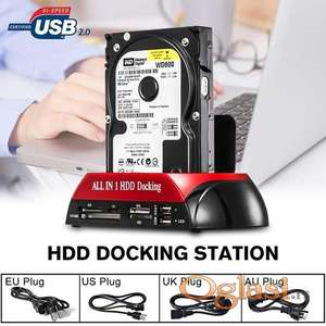 Docking station All in 1 HDD